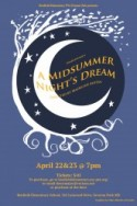 a midsummers night dream poster